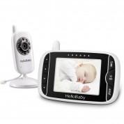 Babyphone Vidéo Avec Moniteur À Vision Nocturne