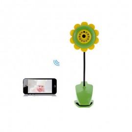 Vidéo Babyphone en Forme de Fleur Wifi pour Smartphone