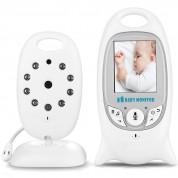 Babyphone vidéo sans fil multifonctions