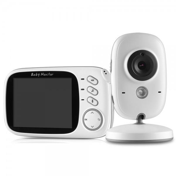 Vidéo Babyphone avec Moniteur 3.2 pouces LCD et Technologie Bidirectionnelle
